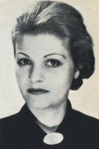 Anna Justine Mahler (Gucki) (1904-1988)