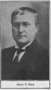 Henry Theophilus Finck (1854-1926)