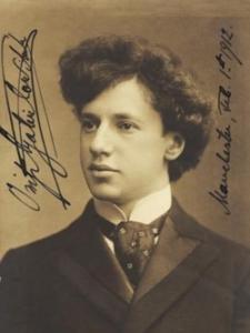 Ossip Gabrilowitsch (1878-1936)