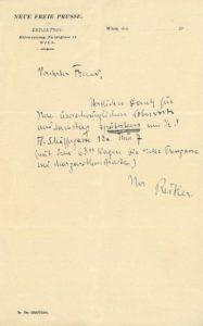 Josef Reitler (1883-1949)