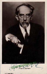 فرانز شالك (1863-1931)