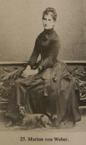 Marion von Weber-Schwabe (1856-1931)