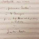 Introduction Lieder eines fahrenden Gesellen