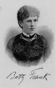 Betty Frank (1866-1920)