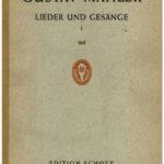 تاريخ Lieder fur Singstimme