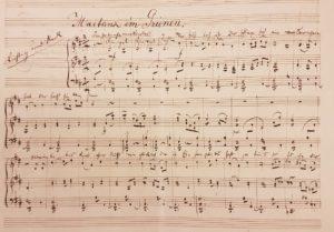 Lied 3: Maitanz im Grunen