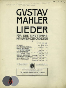 历史Ruckert-Lieder