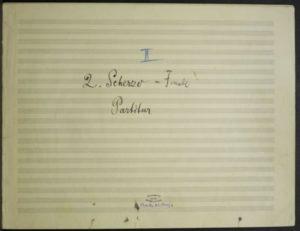 Satz 4: Scherzo. Allegro pesante. Nicht zu schnell