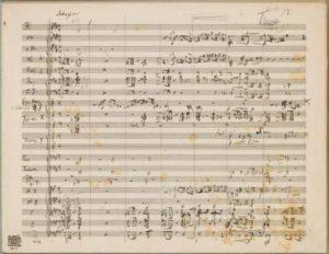 الحركة 1: Langsam (Adagio) - Allegro risoluto ، ma non troppo
