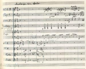 الحركة 4: Nachtmusik. أندانتي أموروسو