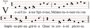 Movimiento 1: Lied 1: Hymnus: Veni Creator Spiritus