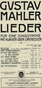 Introducción Des Knaben Wunderhorn, 2 canciones