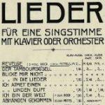 Introduction Des Knaben Wunderhorn, 2 songs