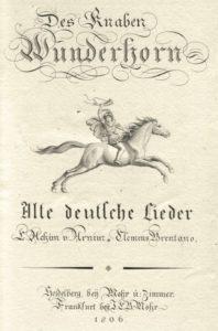 Introducción Des Knaben Wunderhorn (piano), 9 canciones