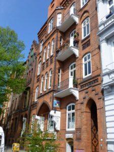 1892-1892 House Gustav Mahler Hamburg - Bundesstrasse رقم 10 / III
