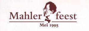 Mahler Festival 1995 Amsterdam