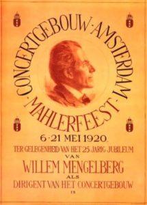 Mahler Festival 1920 Amsterdam