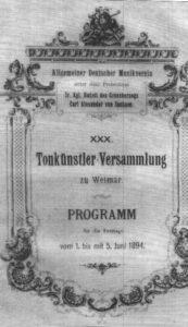 Tonkunstlerversammlung des ADM (1894)
