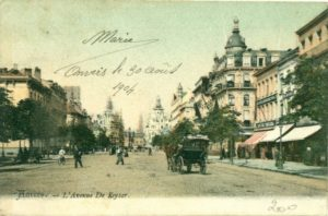 1906 Hotel Grand Antverpy