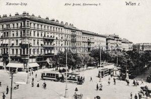 1907 Hotel Bristol Conrad Uhl