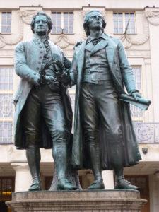 Goethe and Schiller memorial