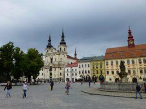Church of St Ignatius of Loyola (Masarykovo square, Hauptplatz)