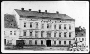 Hotel Czap (Zizkova street Nos. 15/1696, Sct. Johann's Platz No. 50/51)
