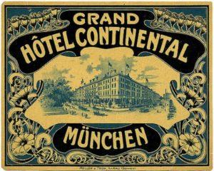 1910 Hotel Grand Continental
