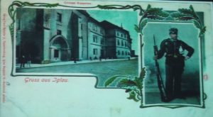 Military barracks (Krizova street Nos. 2/111, Grosse Kreutzer Gasse No. 40)