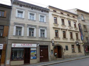 1872-1889 House Gustav Mahler Jihlava - Znojemska street Nos. 6/1088 (Pirnitzer gasse No. 264)