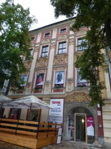 Casa Josef Kopfstein (plaza Masarykovo n. ° 25/643, Hauptplatz n. ° 170)