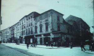 Factory Bernard Mahler production alcohol (Komenskeho street Nos. 3/1322, Spital Gasse 493)