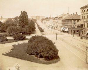 1891年ホテルグランドクリスチャニア