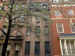 1952-1964 House Alma Mahler New York (120 East 73d Street)