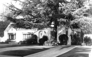 1942-1952 House Alma Mahler Beverly Hills (610 North Bedford Drive)