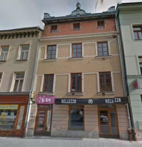 Factory Bernard Mahler locksmith (Benesova street Nos. 19/1253, Obere Sacher Gasse No. 452)