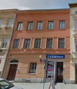 House Johann Brosch (Komenskeho street Nos. 23/1614, Spital Gasse No. 576)