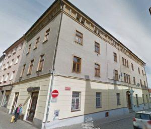 Casa Heinrich Fischer 1873-1874 (Mrstikova Nos. 1/1176, Schonmelzer Gasse No. 383)