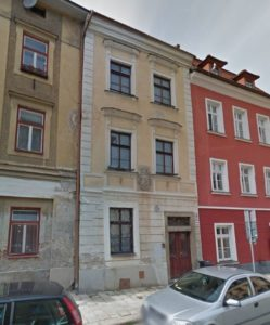 House Jakob Sladky (Mincovny Nos. 9/85, Kleine Pfarr Gasse No. 67)