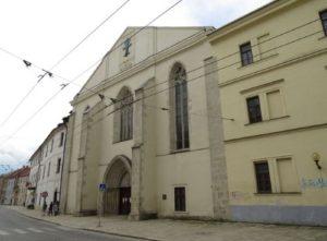 Dominican monastery (Krizova street Nos. 4/112, Grosse Kreutzer Gasse No. 39)