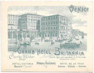 1897 Hotel Britannia