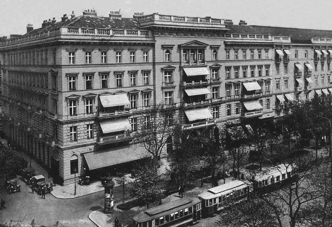 1897 Hotel Grand Wien Mahler Foundation