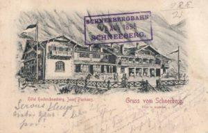 1905 Hotel Hochschneeberg