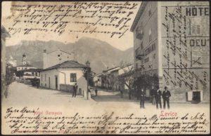 Stadt von Levico