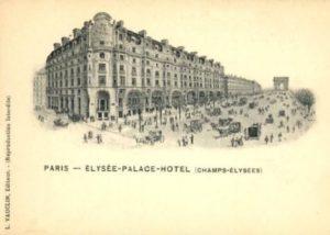 1911 Hotel Elysee Palace
