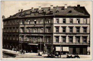 1885年ホテルブラウエンスターン