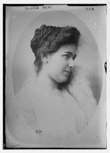 Yolanda Mero (1887-1963)