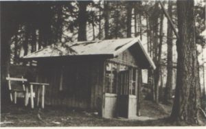 1908-1910 Composing cottage near the Trenkerhof