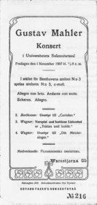 1907 Concert Helsinki 01-11-1907