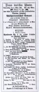 1898 Concert Prague 03-03-1898 - Symphony No. 1